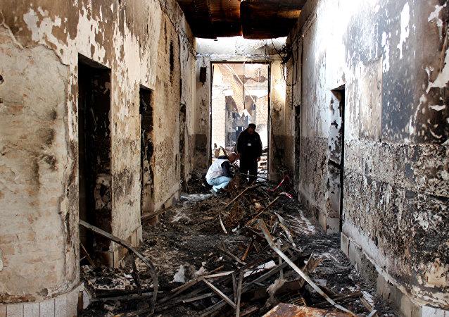L'hôpital MSF de Kunduz après le bombardement US