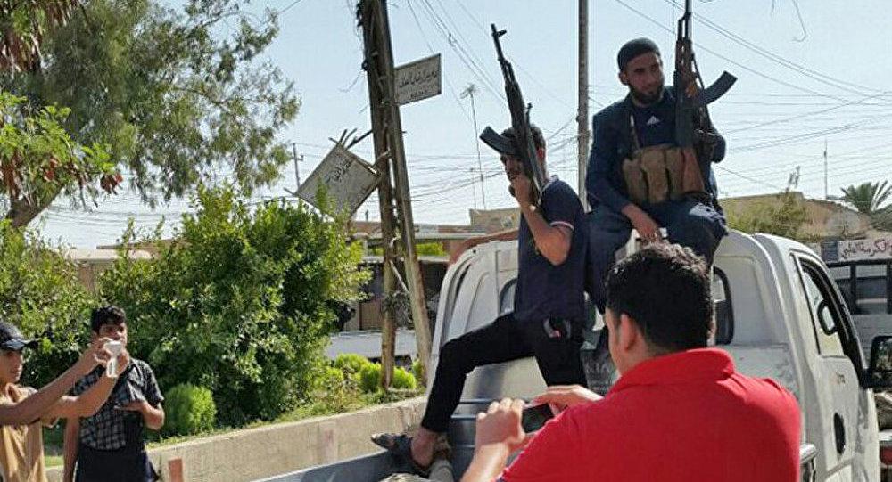 Des djihadistes en Irak