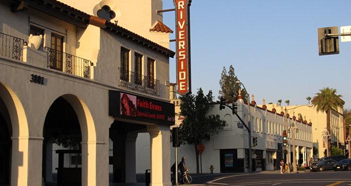 La ville de Riverside, Californie