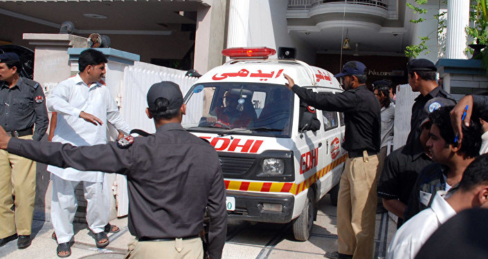 Ambulance in Lahore. (File)