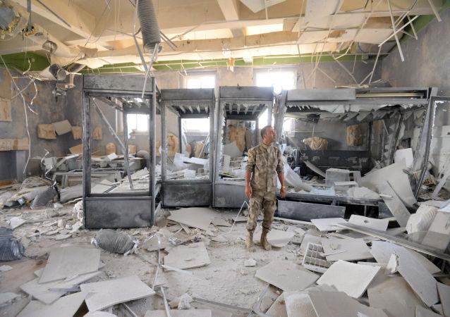 Musée de Palmyre pillé par Daech