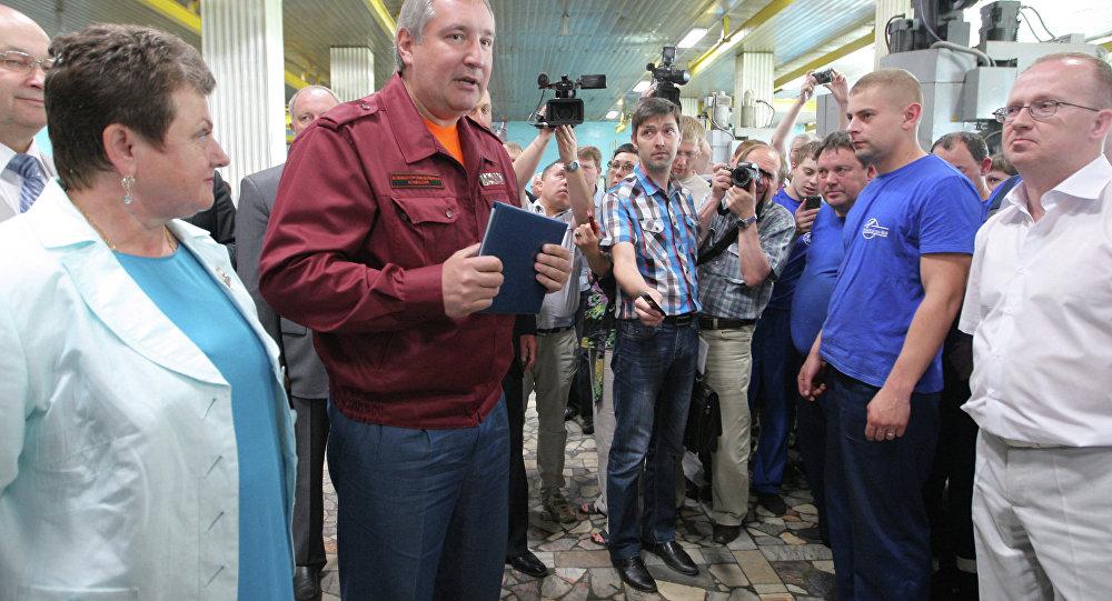 Dmitri Rogozine à Kovrov