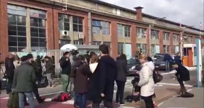 La situation à l'aéroport de Bruxelles après les attentats