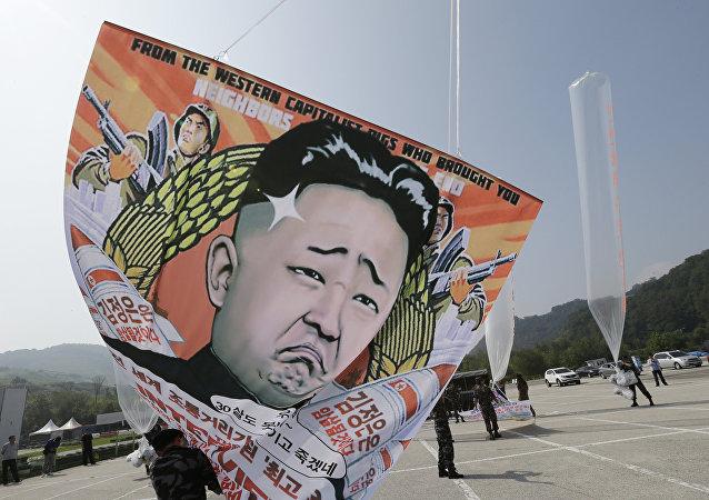 100.000 tracts anti-Kim ont envahi le ciel nord-coréen