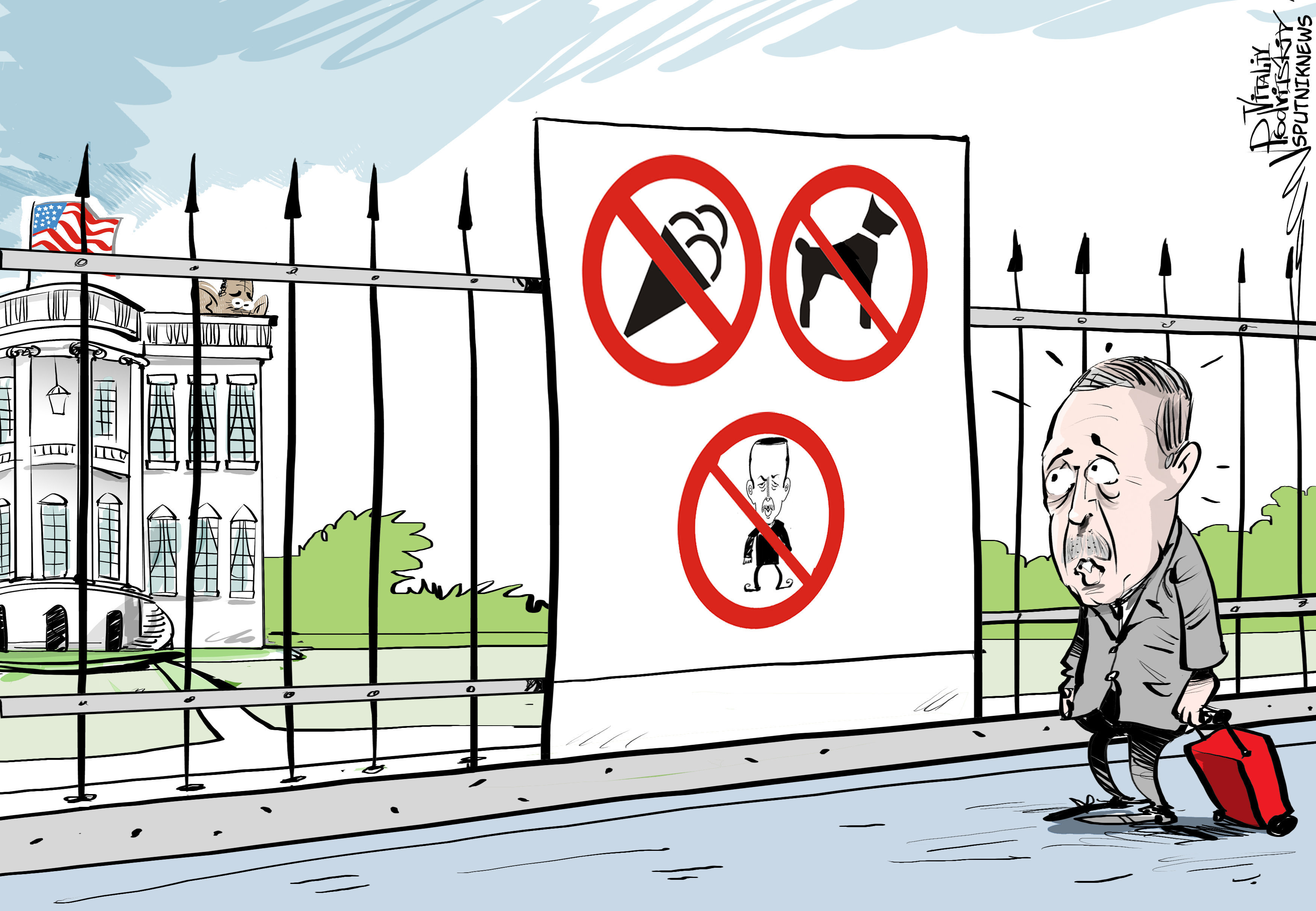 Obama a refusé de rencontrer Erdogan
