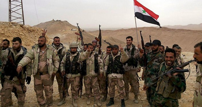 L'armée syrienne. Image d'illustration