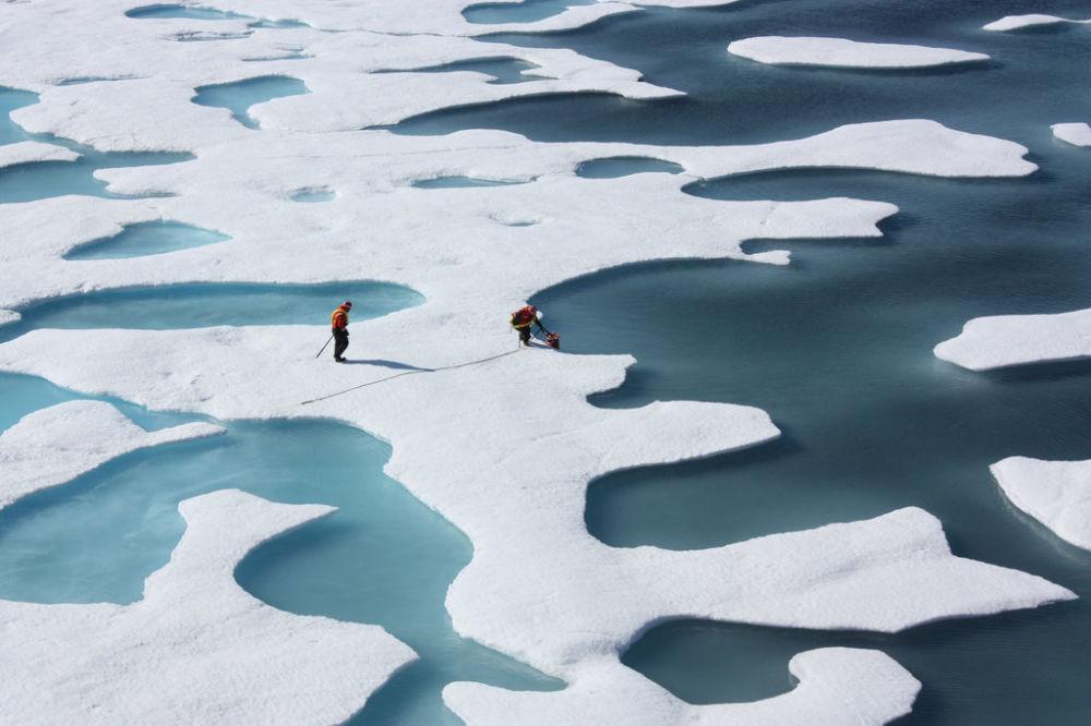 Réduction record des glaces d'hiver de l'Arctique