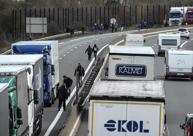 Calais. Archive photo