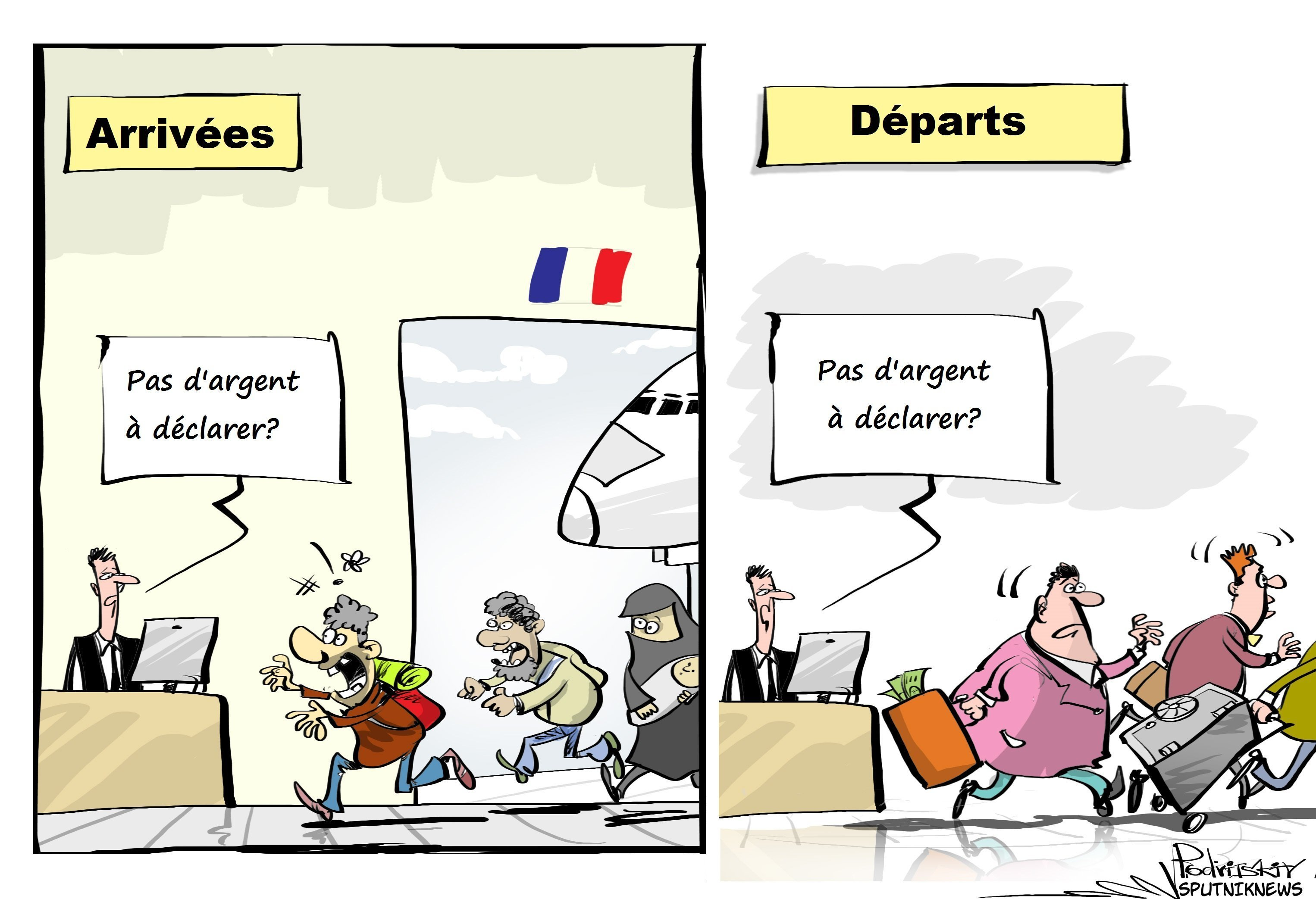 Les riches quittent massivement la France