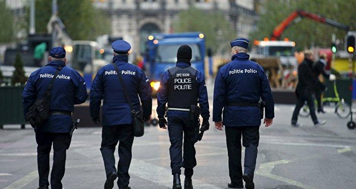 Police belge, image d'illustration
