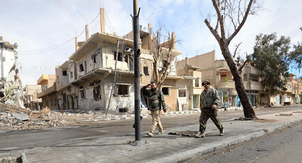 La ville syrienne de Palmyre