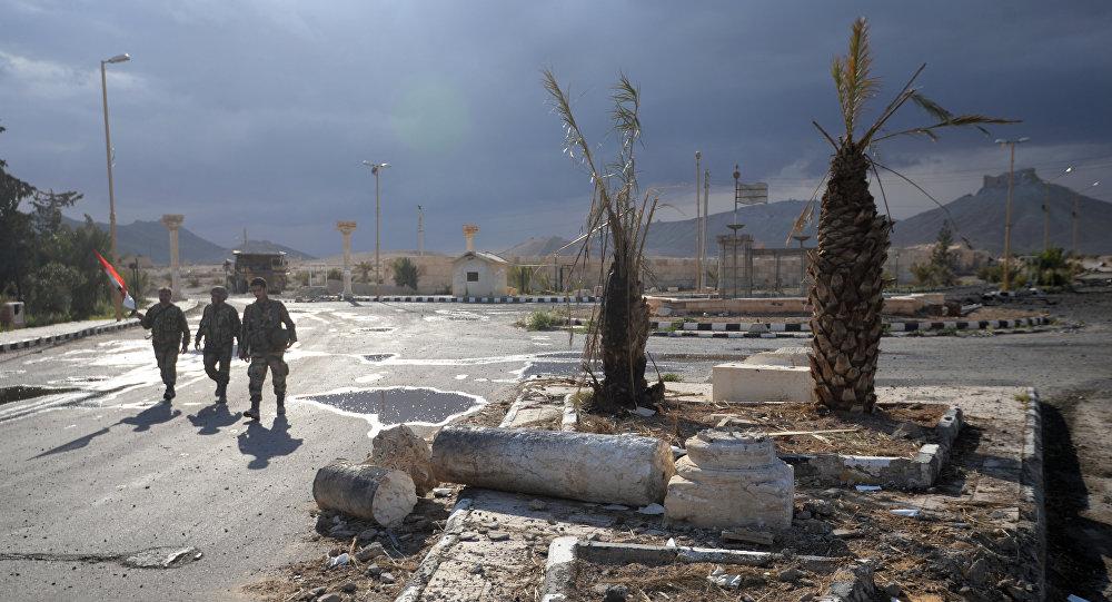 Situation à Palmyre