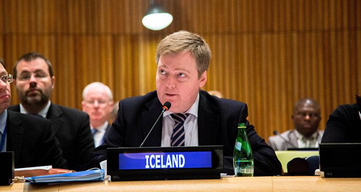 Sigmundur Davíð Gunnlaugsson, Prime Minister of Iceland