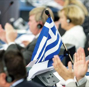 Le drapeau grec