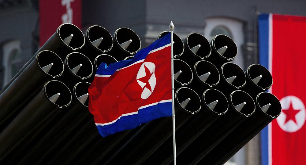 Le drapeau nord-coréen