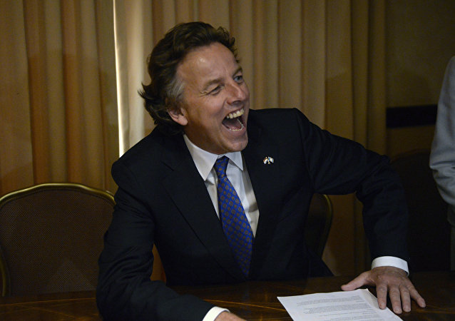 Le ministre néerlandais Bert Koenders