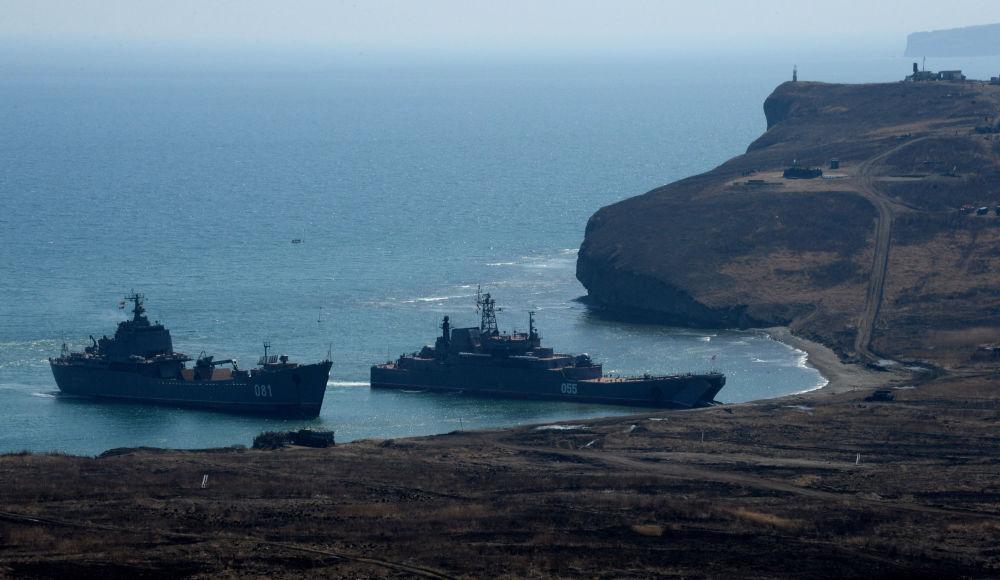 Les entraînements de l'infanterie de marine