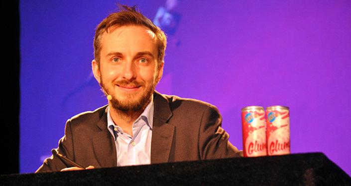 Présentateur de TV allemand Jan Böhmermann