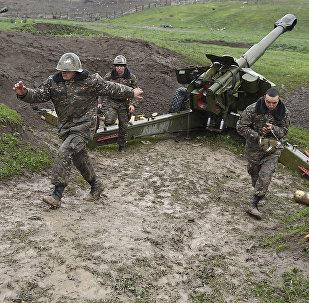 Haut-Karabakh: tirs d'artillerie