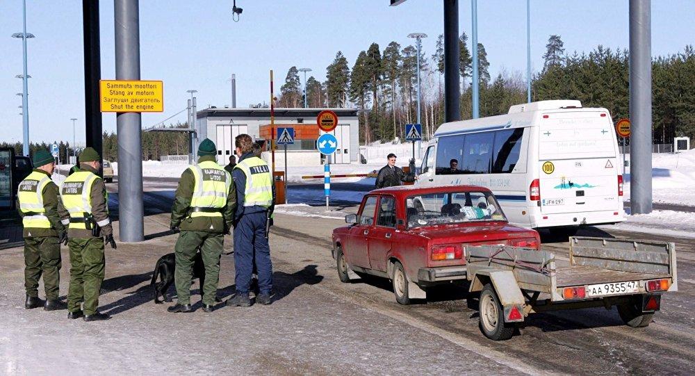 A la frontière russo-finlandaise