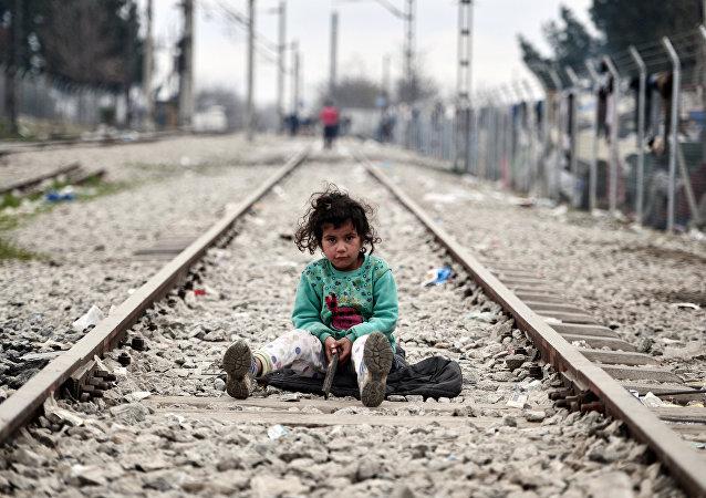 enfants des migrants