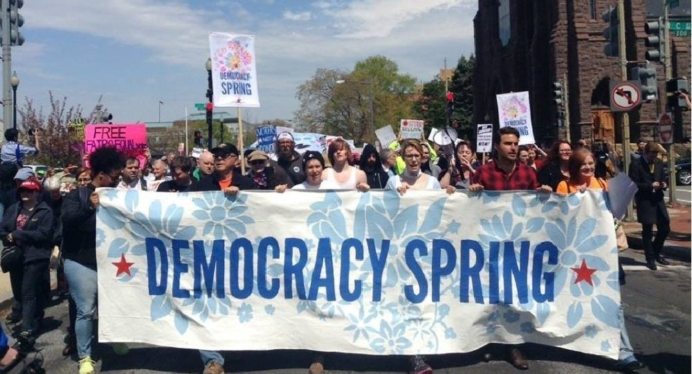 Le mouvement Democracy Spring