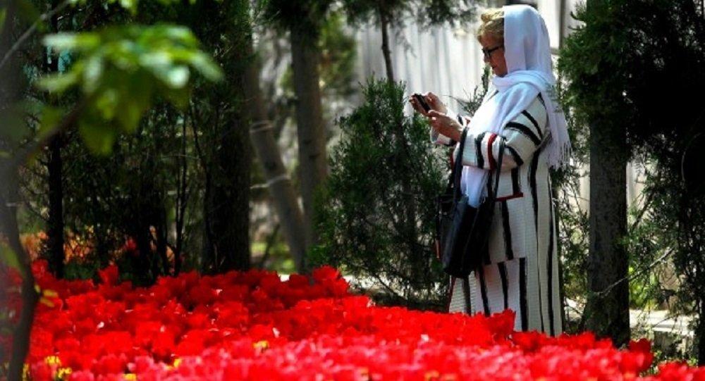 Tulipes à Téhéran