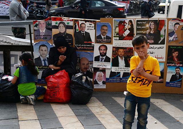 Législatives en Syrie: 3.500 candidats face aux électeurs