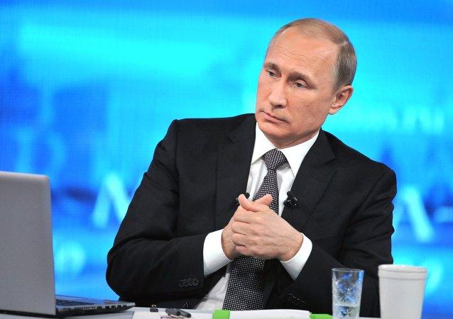 Comment Vladimir Poutine se prépare pour la ligne directe