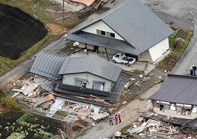 Les conséquance d'un séisme au Japon, image d'illustration
