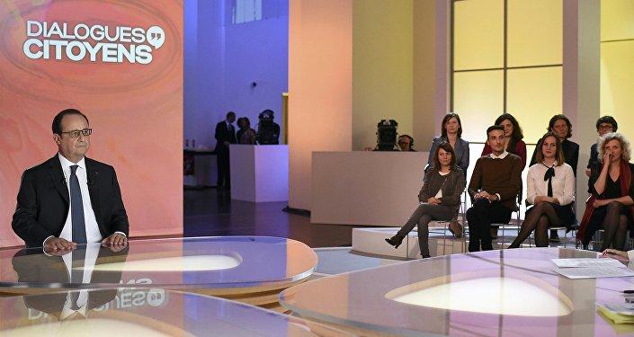 Le président s'est exprimé le 14 avril 2016 dans l'émission Dialogues Citoyens