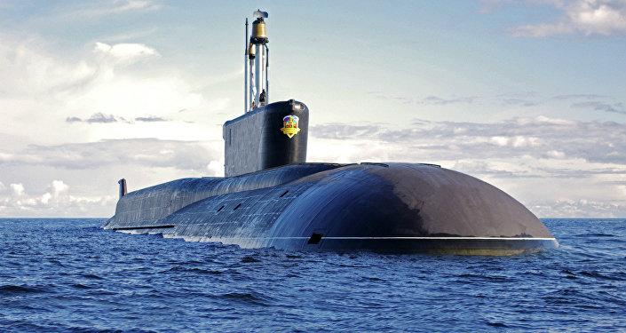 Le sous-marin nucléaire russe Alexandre Nevski
