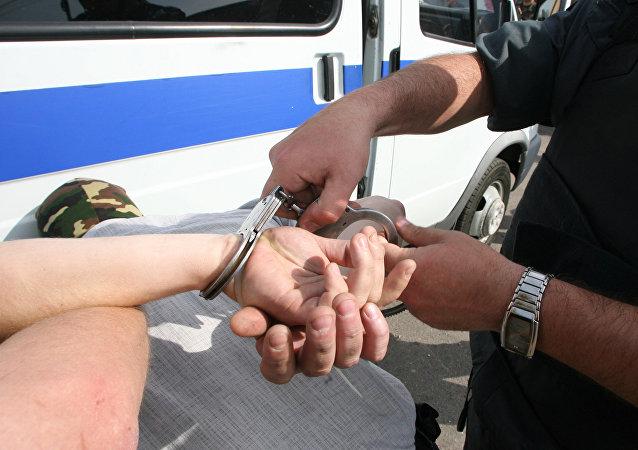 L'interpellatiion d'un suspect