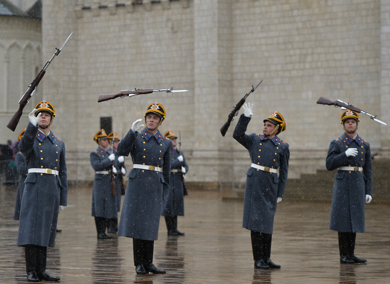 La cérémonie de relève de la garde