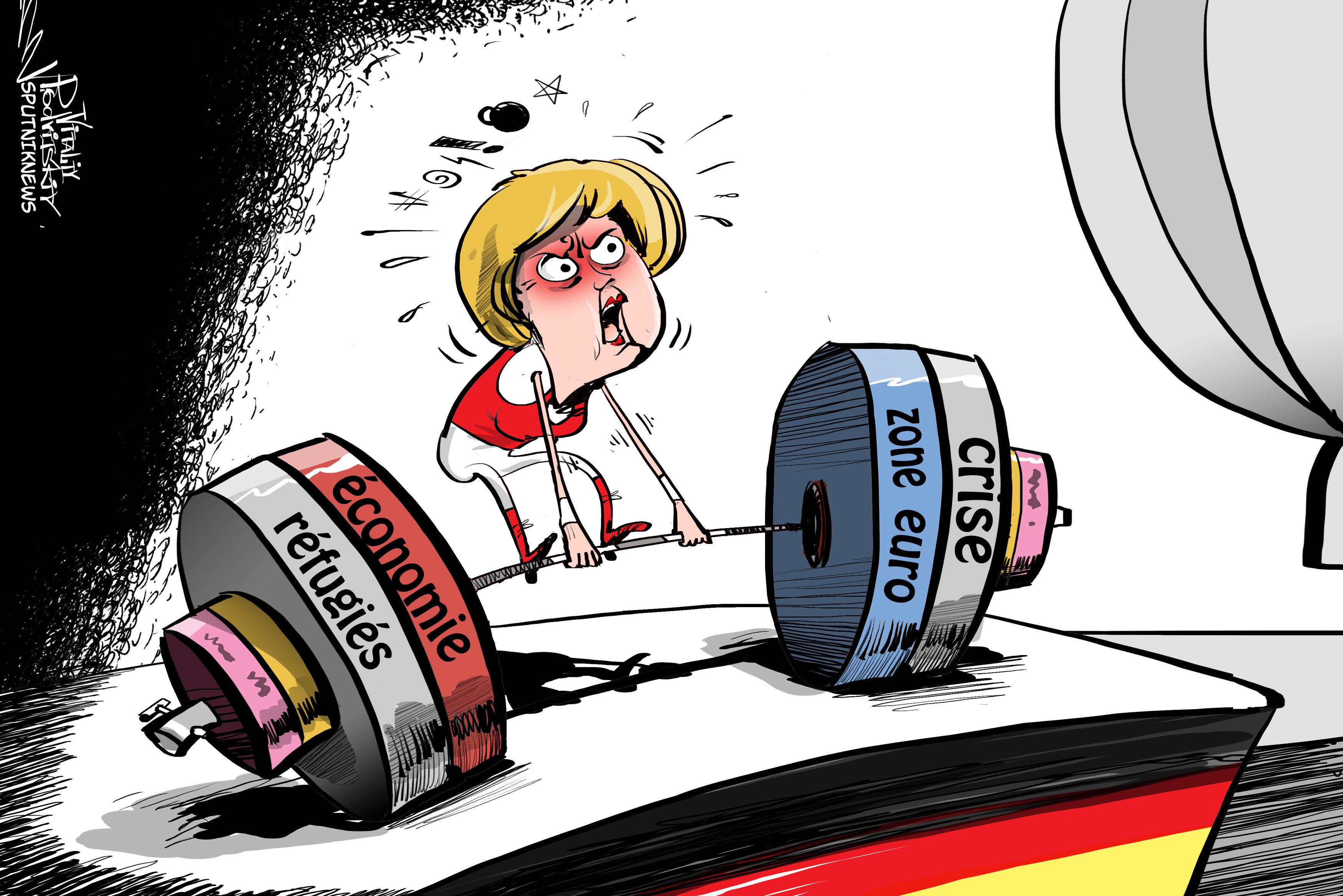 Die Zeit: Merkel perd 11% dans les sondages suite au sketch anti-Erdogan