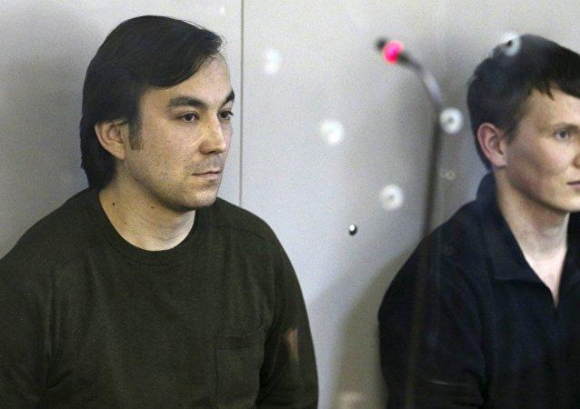 Evgueni Erofeïev et Alexandre Alexandrov condamnés à 14 ans de prison par un tribunal de Kiev