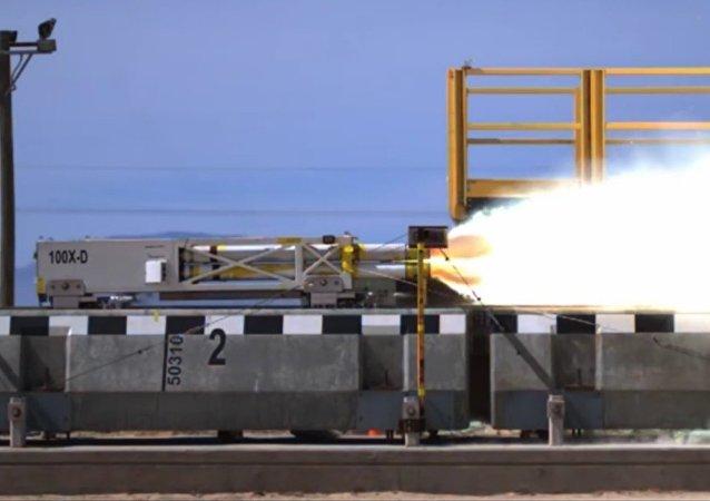 Un nouveau train à sustentation magnétique à grande vitesse testé aux USA