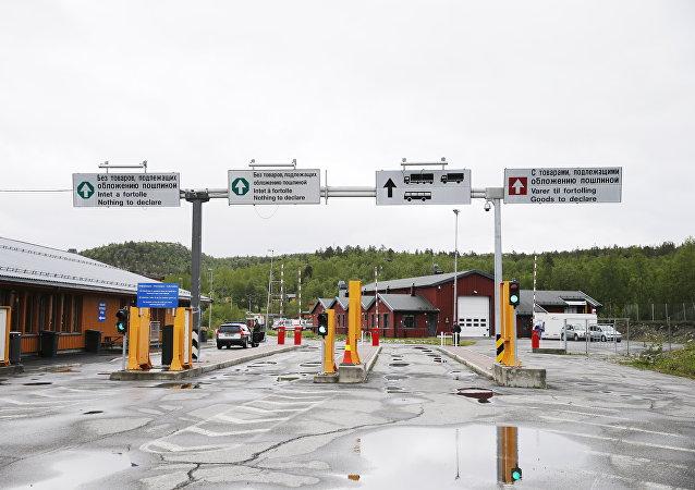 La Norvège, la frontière avec la Russie