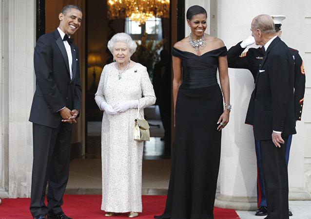 visite à Londres, Barack Obama
