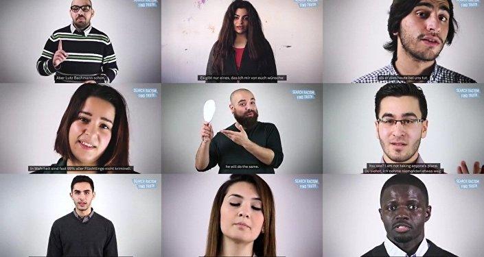 Vous cherchiez Pegida sur Youtube? Des migrants vous parlent