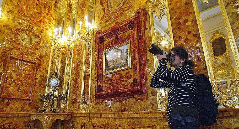 Chambre d 39 ambre la piste m ne la pologne sputnik france - La chambre d ambre photos ...