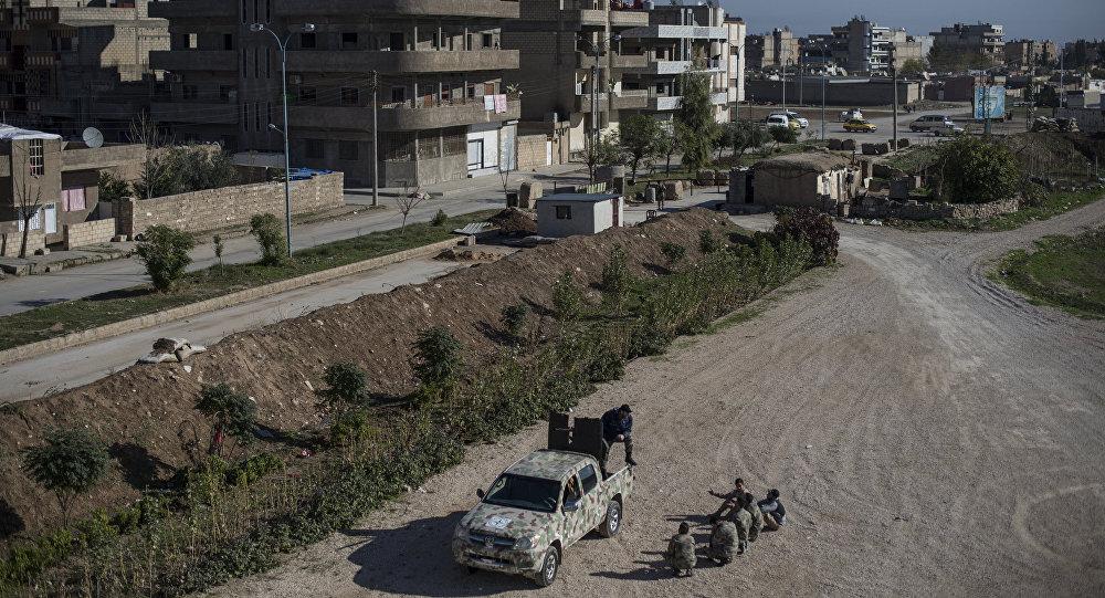 La ville syrienne de Qamishli