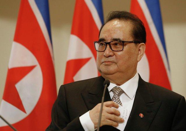 Ministre nord-coréen des Affaires étrangères Ri Su Yong