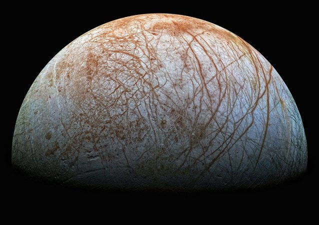 Europe, l'un des satellites de Jupiter
