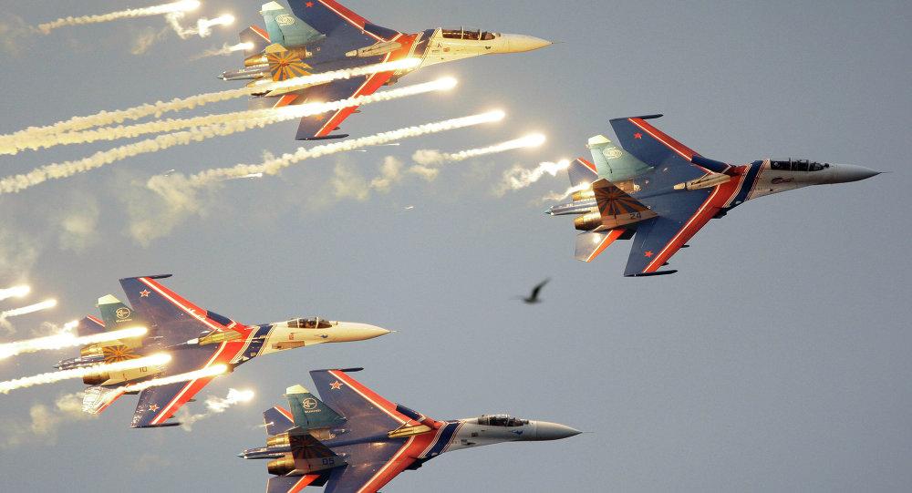 La patrouille aérienne Rousskie Vitiazi