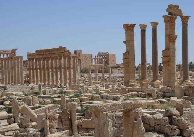 Que reste-t-il de la Palmyre antique?