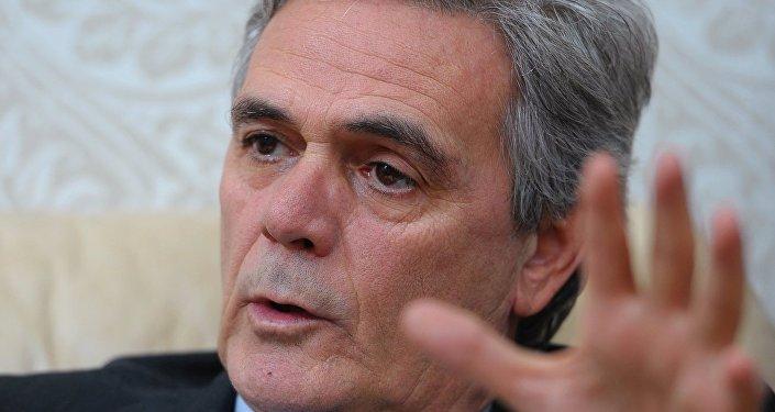Cesare Maria Ragaglini, ambassadeur italien à Moscou