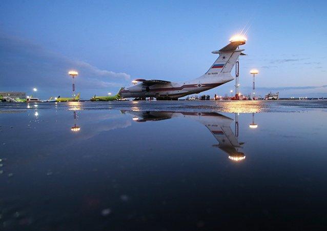 avion d`Urgences Ministère