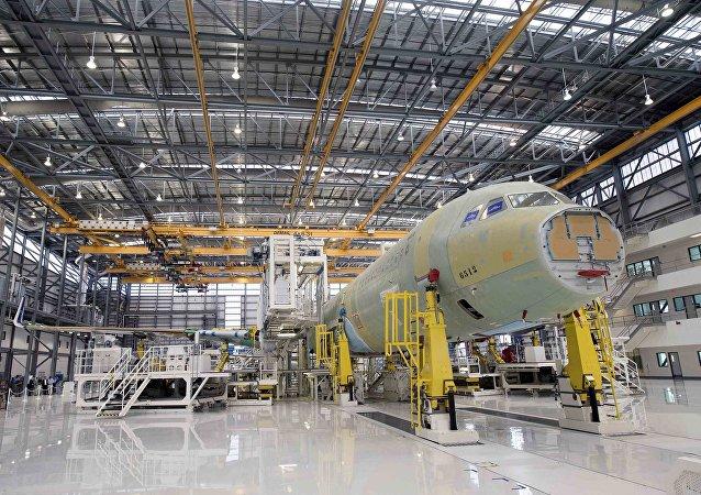 Le constructeur européen Airbus a livré son premier avion de ligne produit aux États-Unis