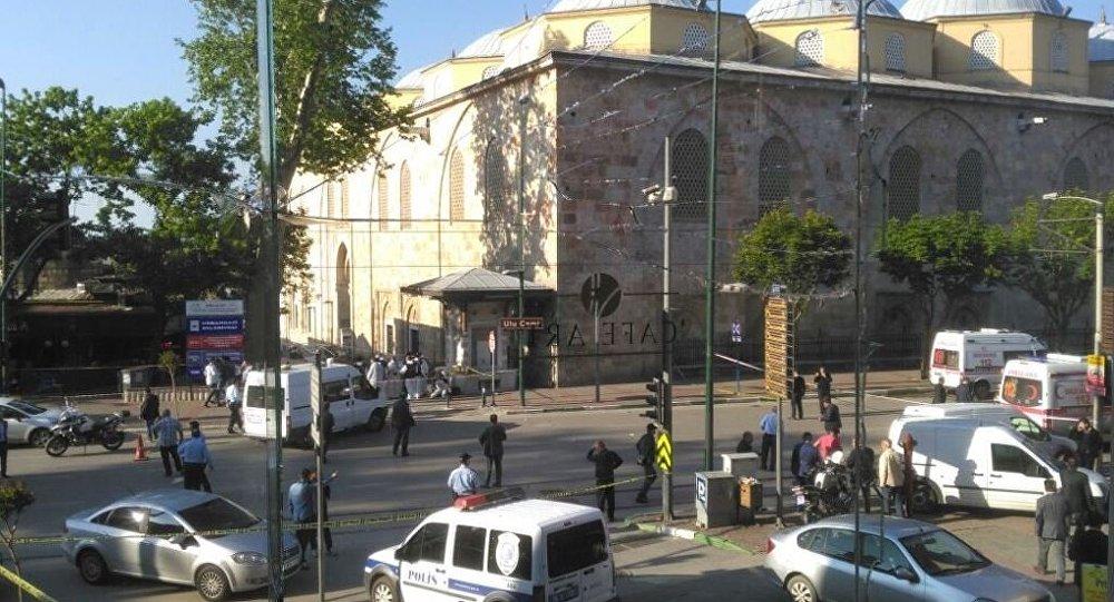 Turquie: explosion à Bursa, non loin de la porte ouest de la grande mosquée